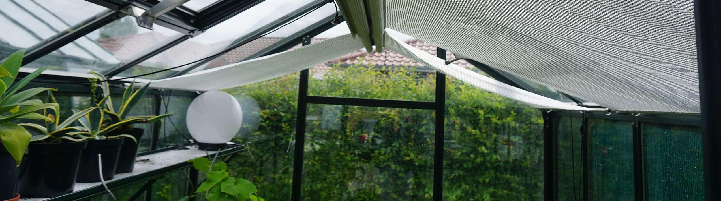 Fabelhaft Fensteröffner und Beschattungen » Hilfe bei Hitze im Gewächshaus @CT_49
