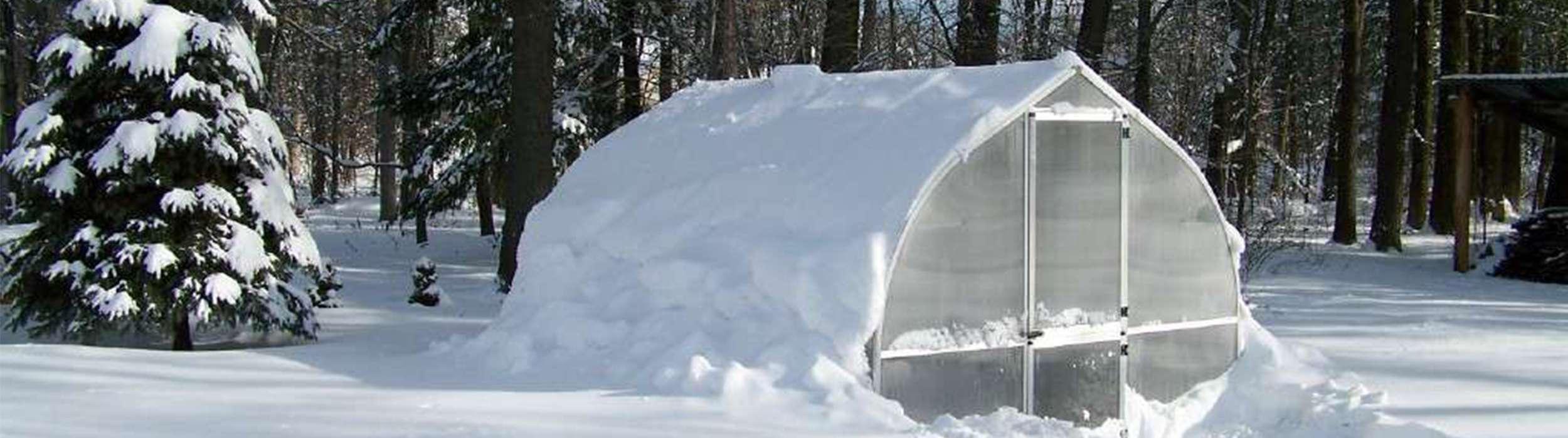Glasklare Sache Das Gewachshaus Auch Im Winter Nutzen