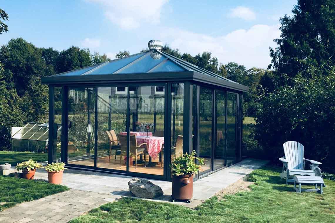 Gartenhaus Aus Glas Oder Metall