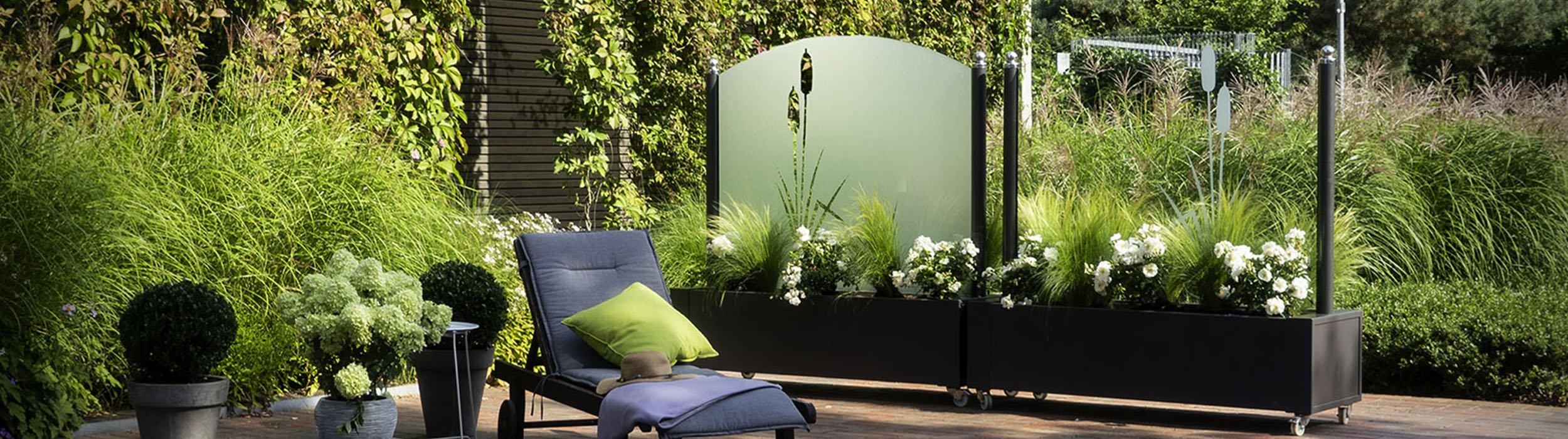 Windschutz für die Terrasse am besten aus Glas